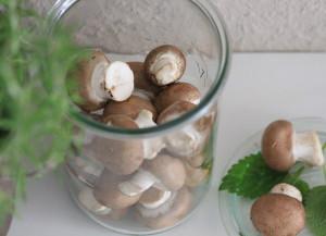 Ungewaschenes Gemüse enthält natürliches Vitamin B12